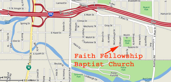 Faith fellowship baptist church street map publicscrutiny Images